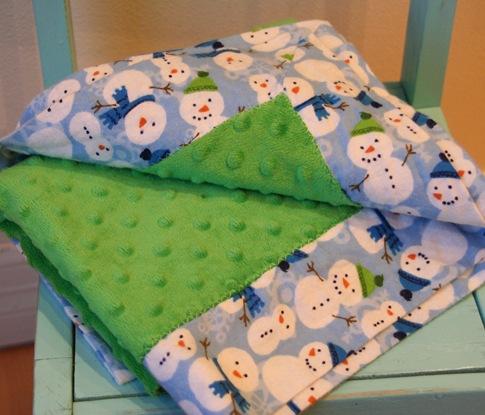 Where Did I See That?: Self Binding Receiving Blanket